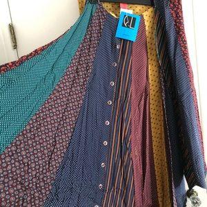 Ladies Tie skirt and vest